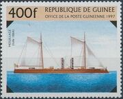 Guinea 1997 19th Century Warships d