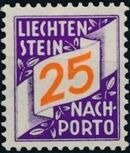 Liechtenstein 1928 Postage Due Stamps (Swiss Administration of the Post Office) e