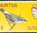 Mauritius 1965 Birds in Natural Colors
