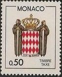 Monaco 1986 National Coat of Arms - Postage Due Stamps (2nd Group) a