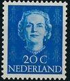 Netherlands 1949 Queen Juliana - En Face (1st Group) f.jpg
