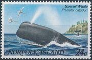 Norfolk Island 1982 Whales a