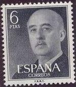 Spain 1955 General Franco o
