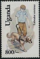 Uganda 1993 Dogs f