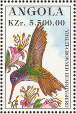 Angola 1996 Hummingbirds g