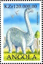 Angola 1998 Prehistoric Animals (2nd Group) a