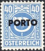 Austria 1946 Occupation Stamps of the Allied Military Government Overprinted in Black k