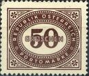 Austria 1947 Postage Due Stamps - Type 1894-1895 with 'Republik Osterreich' s