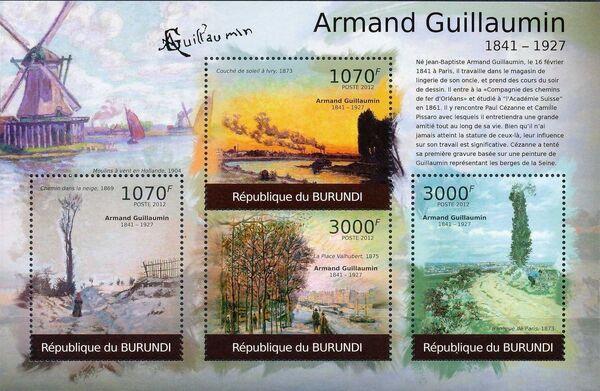 Burundi 2012 Paintings by Armand Guillaumin k
