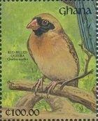 Ghana 1991 The Birds of Ghana zr
