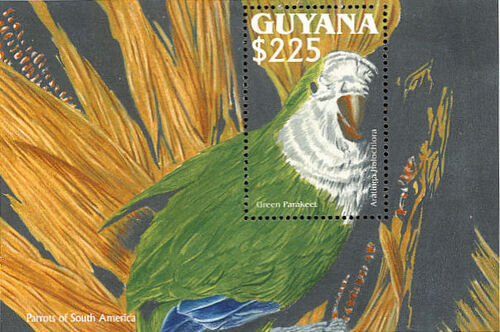 Guyana 1993 South American parrots SSa