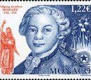 Monaco 2006 250th Anniversary of the birth of W.A. Mozart