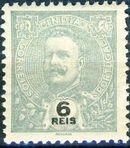 Portuguese India 1903 D. Carlos I - New Colours and Values f