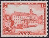 Saar 1954 Stamp Day a