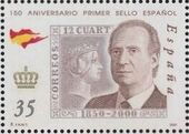 Spain 2000 150th Anniversary of First Spanish Stamp a
