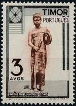 Timor 1948 Native People b