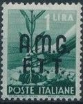 Trieste-Zone A 1947 Democracy (Italy Postage Stamps of 1945 Overprinted) c