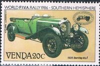 Venda 1986 FIVA World Classic Car Rally b