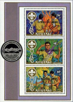 Aitutaki 1983 15th World Scout Jamboree (Semi-Postal Stamps) SSa