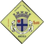 Angola 1963 Coat of Arms - (1st Serie) k