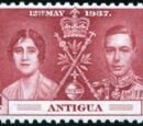 Antigua 1937 George VI Coronation