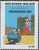 Belgium 2007 Tintin book covers translated q