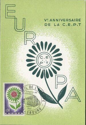 France 1964 Europa e