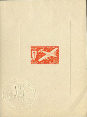 French Somali Coast 1941 Airmail h