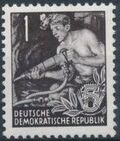 Germany DDR 1953 Workers For The Five-year Plan a