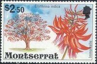 Montserrat 1976 Flowering Trees m