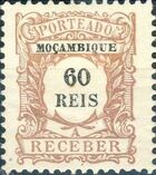 Mozambique 1904 Postage Due Stamps f