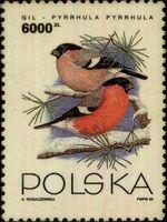 Poland 1993 Birds f