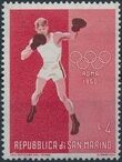 San Marino 1960 17th Olympic Games in Rome d
