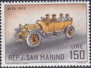 San Marino 1962 Automobiles (pre-1910) o
