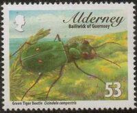 Alderney 2013 Alderney Beetles c