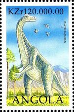 Angola 1998 Prehistoric Animals (2nd Group) b