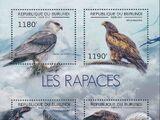 Burundi 2012 Birds of prey