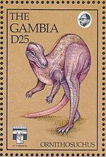 Gambia 1992 Dinosaurs n