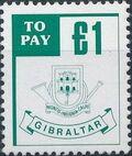Gibraltar 1984 Postage Due Stamps g