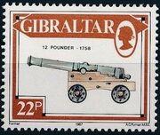 Gibraltar 1987 Guns and Artillery h
