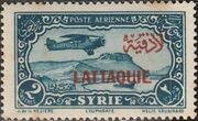 Latakia 1931 Air Post Stamps of Syria 1931 Overprinted c
