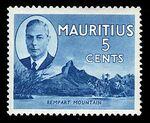 Mauritius 1950 Definitives e