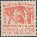 Mexico 1945 Alphabetization Campaign (Regular Mail) b