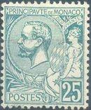 Monaco 1891 Prince Albert I f
