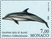 Monaco 1992 Musée Océanographique - Cétacés de la Méditerranée (1st Group) d