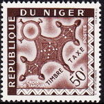 Niger 1962 Cross of Agadez - Postage Due Stamps i