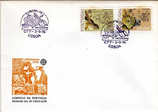 Portugal 1976 Europa c