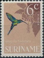 Surinam 1966 Birds f