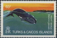 Turks and Caicos Islands 1983 Save Our Whales b