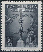 Vatican City 1947 Definitives (Air Post Stamps) f